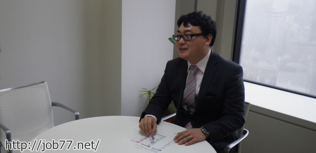 Adecco転職エージェント山口さんとの取材風景