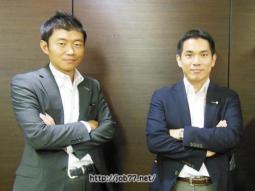 転職エージェントの最上さん田畑さん
