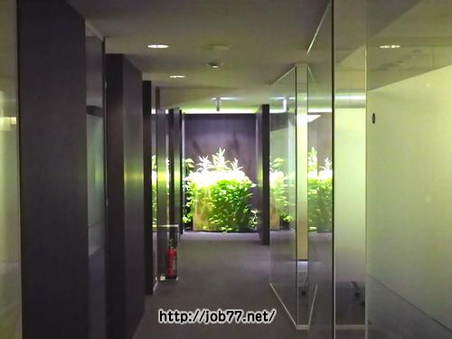 パソナキャリア社内の廊下